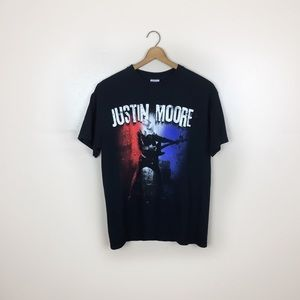 Justin Moore Concert Graphic T-shirt